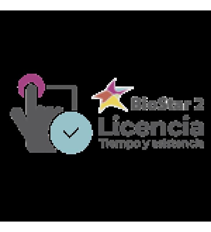 ACTUALIZACION DE LICENCIA TIEMPO Y ASISTENCIA BIOSTAR2 TA STANDARD- ADVANCE