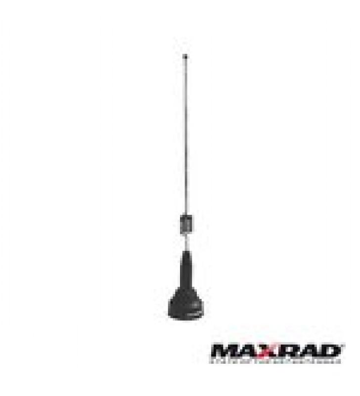 ANTENA MOVIL VHF, AJUSTABLES EN CAMPO, RANGO  DE FRECUENCIA 150 - 174 MHZ