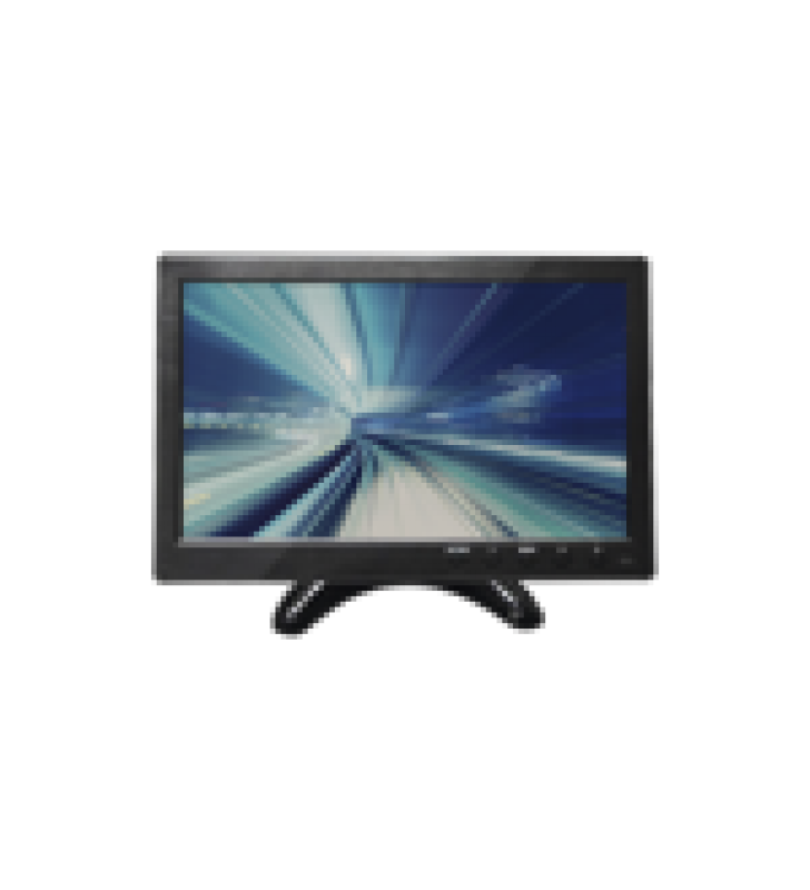 MONITOR 10.1 TFT-LCD IDEAL PARA COLOCAR EN VEHICULOS O DVR/NVR. ENTRADAS DE VIDEO HDMI, VGA Y RCA (CVBS)