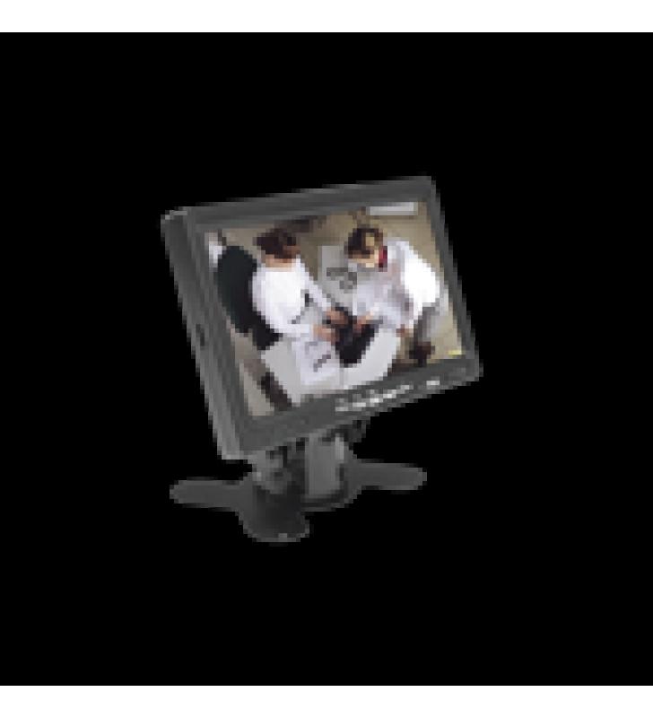 MONITOR 7 TFT-LCD IDEAL PARA COLOCAR EN VEHICULOS O DVR/NVR.  ENTRADAS DE VIDEO HDMI, VGA Y RCA (CVBS)