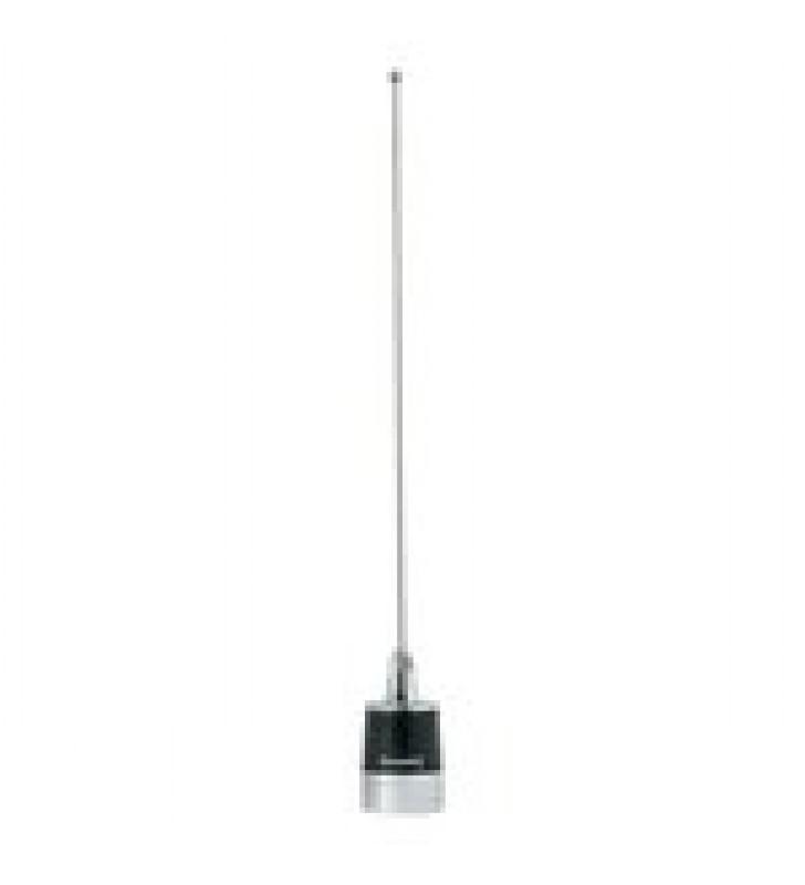 ANTENA MOVIL UHF, AJUSTABLE EN CAMPO, RANGO DE FRECUENCIA 450-490 MHZ.
