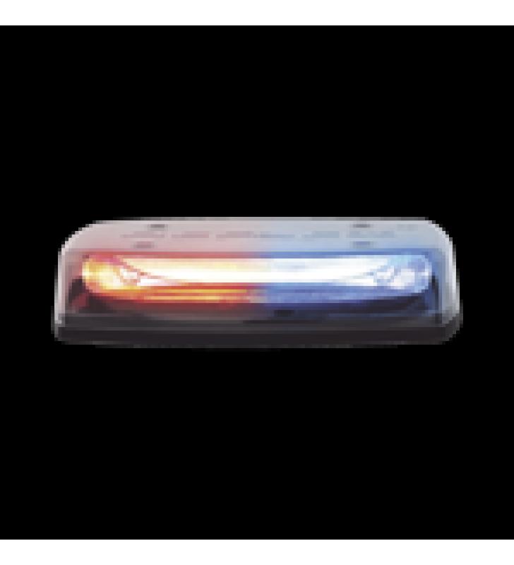 MICRO BARRA LED REFLEX DE 11, 12-24VCD, MONTAJE PERMANENTE, LENTE CLARO, LED COLOR ROJO, AZUL