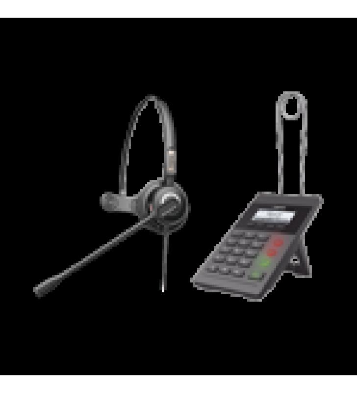 KIT FANVIL PARA CALL CENTER INCLUYE TELEFONO IP X2CP Y DIADEMA HT201 Y FUENTE DE ALIMENTACION.