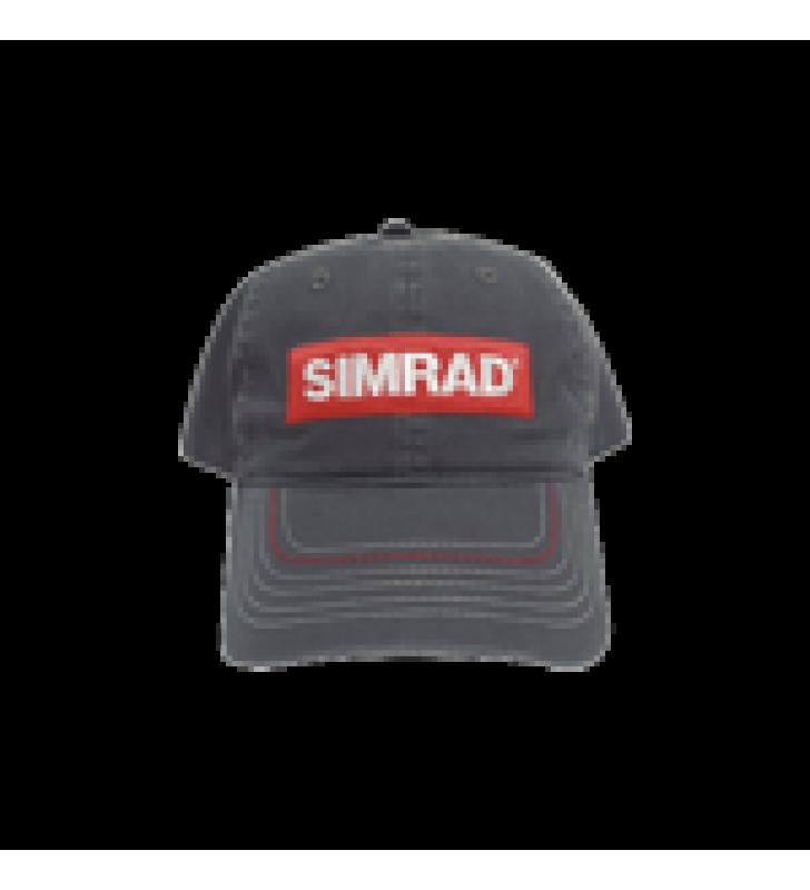 GORRA COLOR GRIS CON LOGO SIMRAD