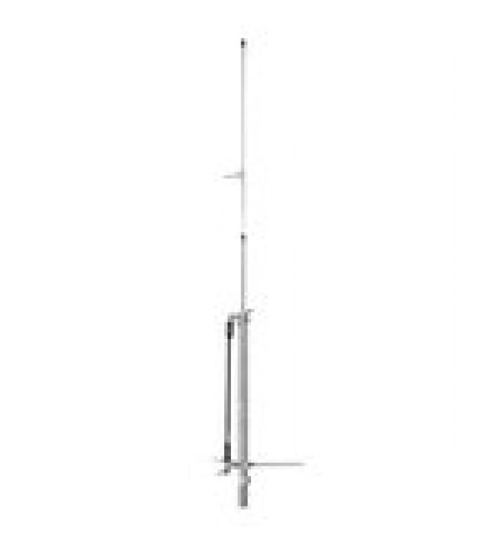 ANTENA BASE UHF, OMNIDIRECCIONAL, RANGO DE FRECUENCIA 450 - 470 MHZ.
