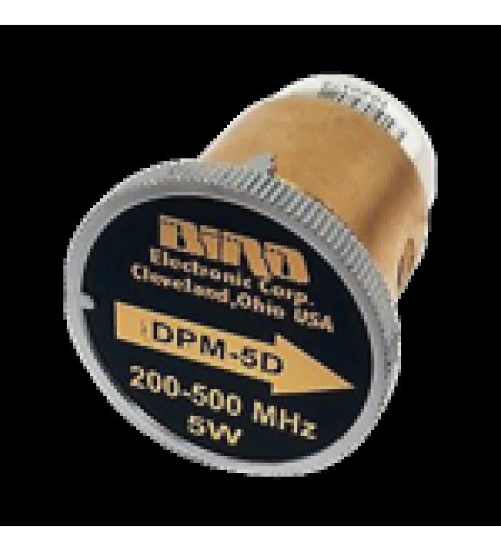 ELEMENTO DPM DE 200-500 MHZ EN SENSOR 5010 / 5014, CON POTENCIA DE SALIDA DE 125 MW-5 W.