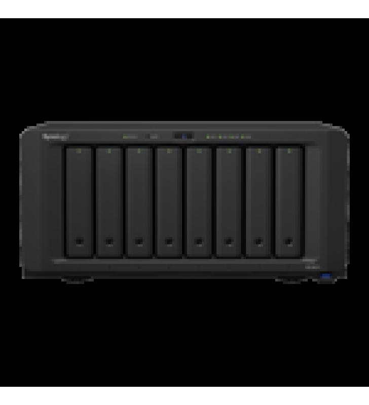 SERVIDOR NAS DE ESCRITORIO CON 8 BAHIAS / EXPANSIBLE A 18 BAHIAS / HASTA 256 TB / 4GB DE RAM