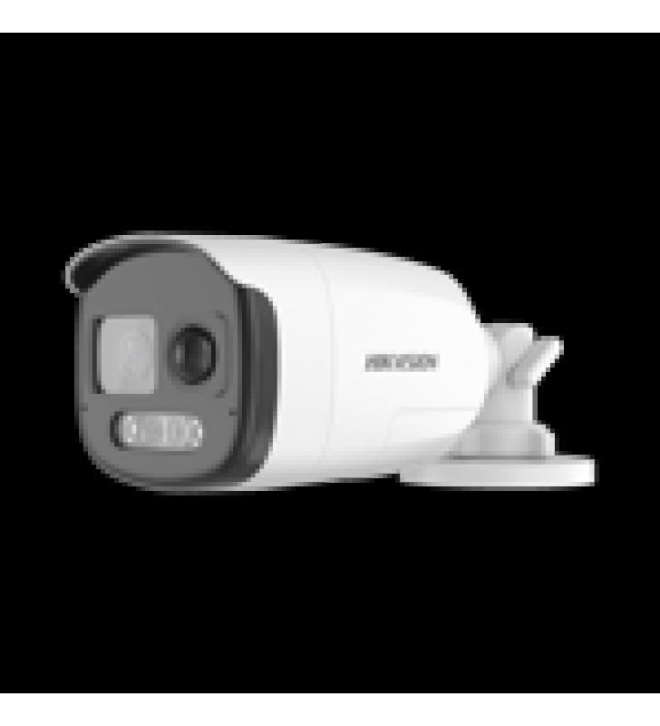 BALA TURBOHD 1080P / IMAGEN A COLOR 24/7 / LENTE 2.8 MM / LUZ BLANCA 40 MTS / EXTERIOR IP67 / WDR 130 DB / SENSOR PIR / SIRENA Y SALIDA DE AUDIO INTEGRADA / ESTROBO ROJO - AZUL / MICROFONO INTEGRADO