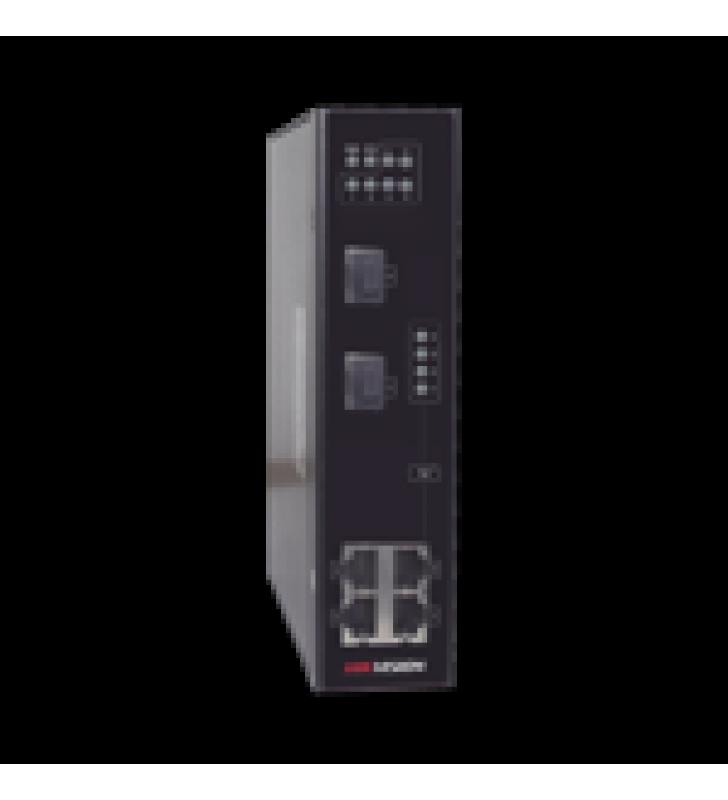 SWITCH POE INDUSTRAL / 4 PUERTOS 10/100 MBPS / 2 PUERTOS SFP / 802.3AT/AF