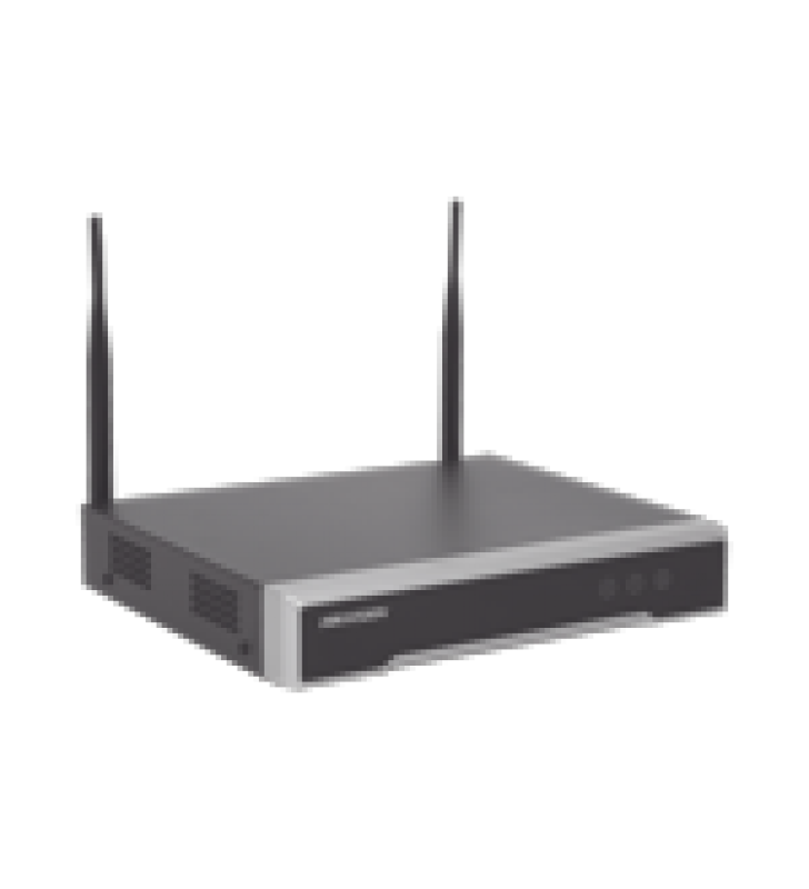 NVR 4 MEGAPIXEL / 8 CANALES IP / 1 BAHIA DE DISCO DURO / 2 ANTENAS WI-FI / SALIDA DE VIDEO FULL HD