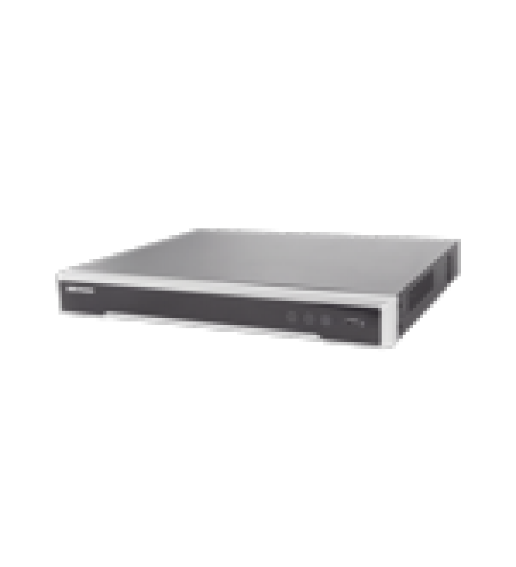 NVR 8 MEGAPIXEL (4K) / 32 CANALES / 16 PUERTOS POE+ / HIK-CONNECT / 2 BAHIAS DE DISCO DURO / SWTICH POE 300 MTS / HDMI EN 4K