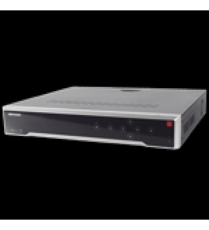 NVR 12 MEGAPIXEL (4K) / 16 CANALES IP / 16 PUERTOS POE+ / 4 BAHIAS DE DISCO DURO / SWITCH POE 300 MTS / HDMI EN 4K / SOPORTA POS