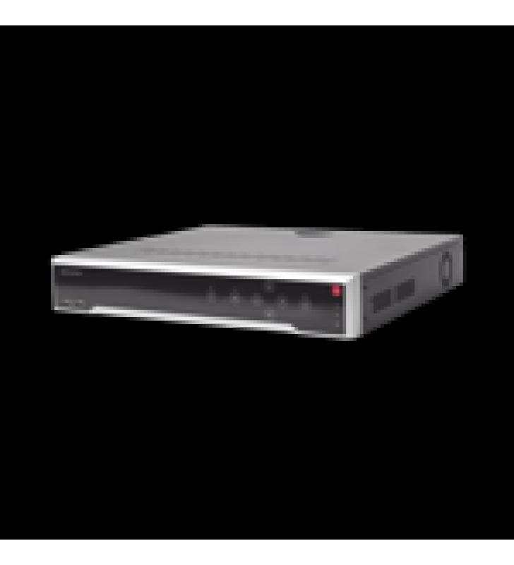 NVR 8 MEGAPIXEL (4K) / 16 CANALES IP /16 PUERTOS POE+ / 4 BAHIAS DE DISCO DURO / SWITCH POE 300 MTS / HDMI EN 4K