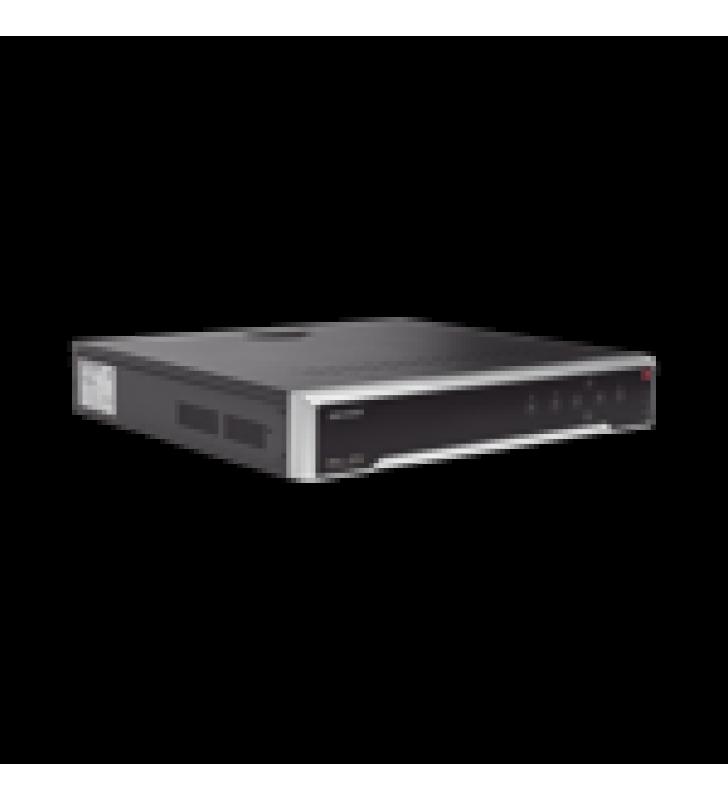 NVR 8 MEGAPIXEL (4K) / 32 CANALES IP / 16 PUERTOS POE+ / 4 BAHIAS DE DISCO DURO / SWITCH POE 300 MTS / HDMI EN 4K
