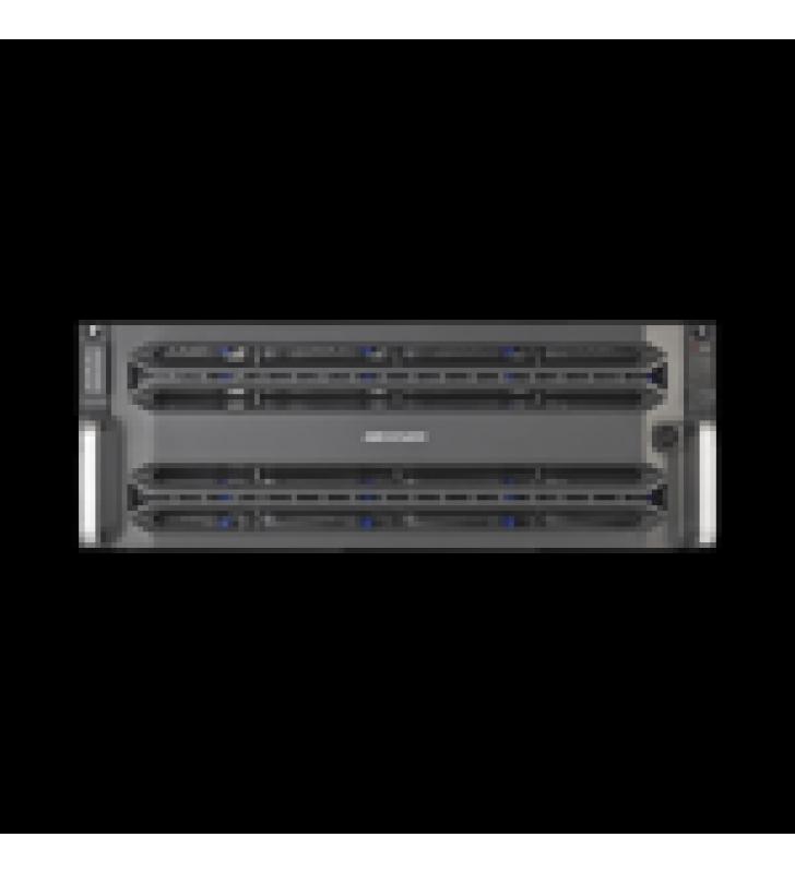 ALMACENAMIENTO EN RED / 24 DISCOS DUROS / RAID / ISCSI / NFS / GRABA 320 CANALES IP / 2 TARJETAS RED / SIMPLE CONTROLADOR