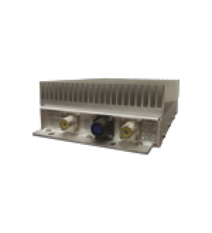 AMPLIFICADOR VEHICULAR 136-174 MHZ, ENTRADA 10-20W /SALIDA 100W, 18 AMP., UHF HEMBRAS.
