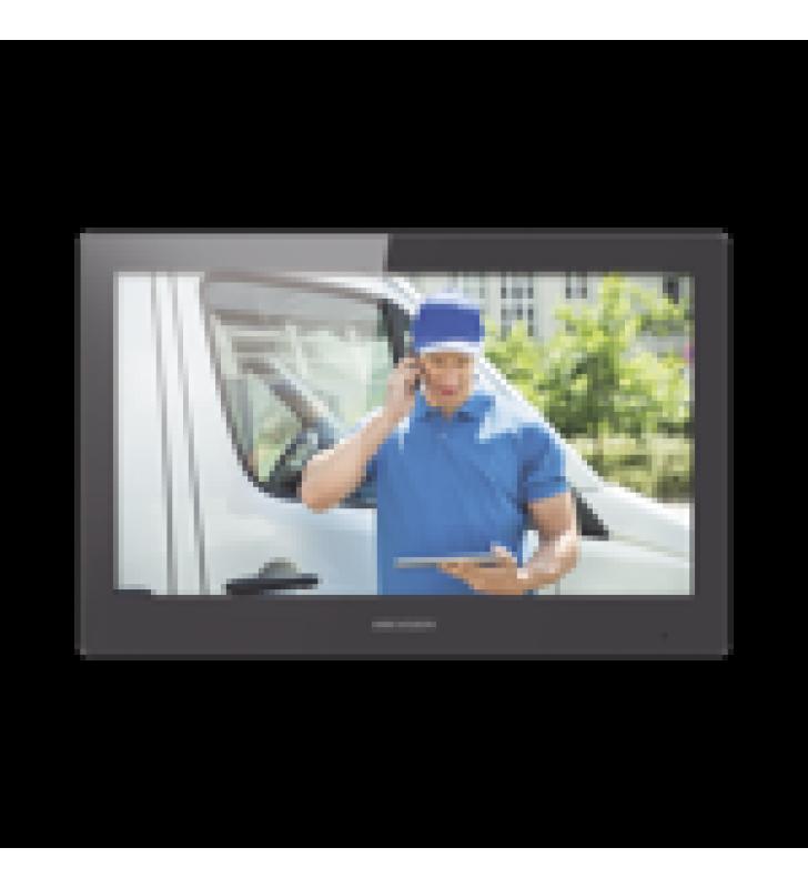 MONITOR TOUCH SCREEN 10 PARA VIDEOPORTERO IP MODULAR / VIDEO EN VIVO / WIFI / APERTURA REMOTA / LLAMADA ENTRE MONITORES / AUDIO DE DOS VIAS / POLICARBONATO