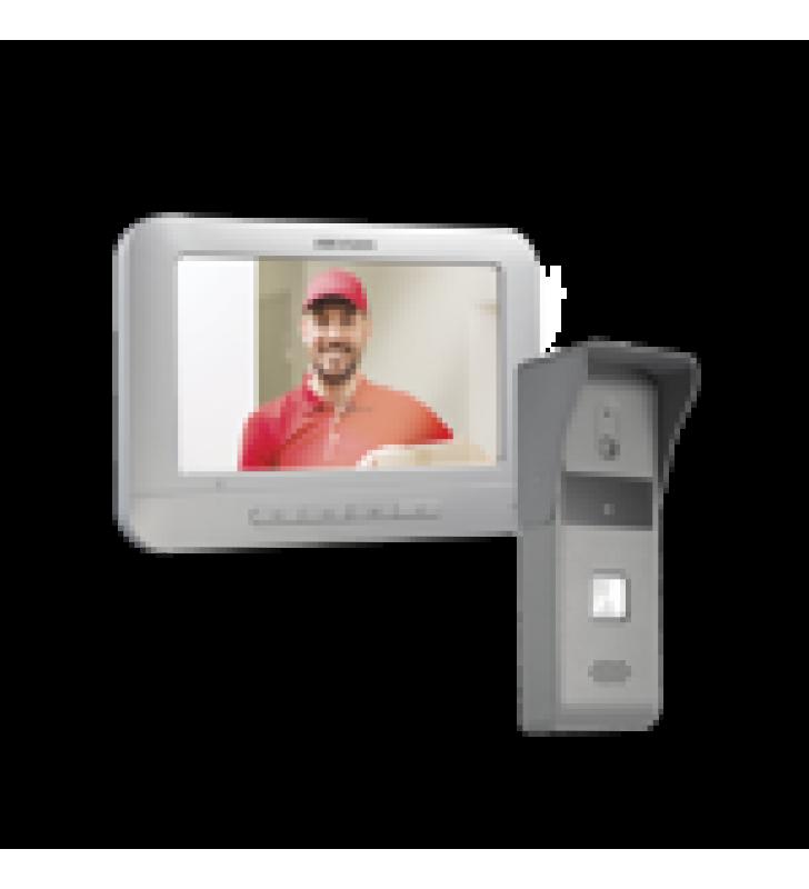 KIT DE VIDEOPORTERO ANALOGICO CON PANTALLA LCD A COLOR DE 7 / FRENTE DE CALLE PARA EXTERIOR IP65