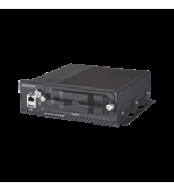 NVR MOVIL 4 CANALES DE 2MP CON 4 PUERTOS POE / 3G-4G / GPS / WI-FI / 2 BAHIAS DE DISCO DURO DE 2TB