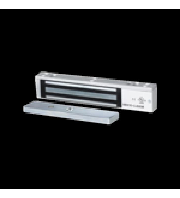 CERRADURA ELECTROMAGNETICA DE 1200-LB - SENSOR DE RETENCION, LED, LISTADA EN UL
