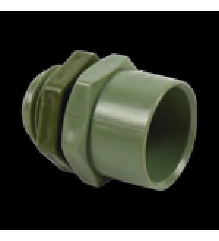 CONECTOR DE 1 PARA TUBERIA PVC CONDUIT PESADO (25 MM)