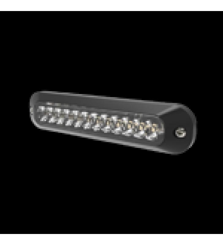 LUZ PERIMETRAL , 12 LEDS ULTRA BRILLANTES, COLOR AMBAR / CLARO