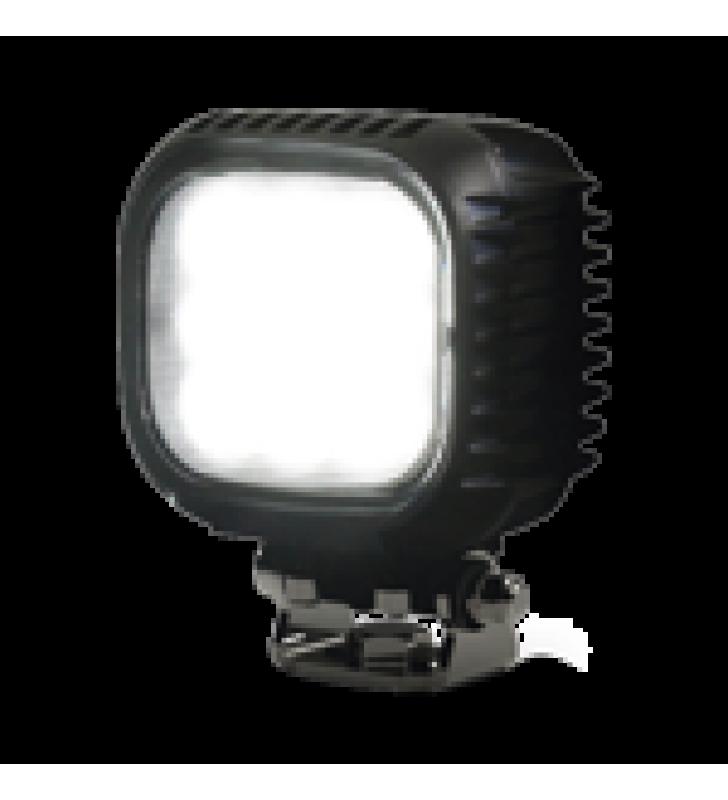 LAMPARA  LED DE TRABAJO, DE USO RUDO, IP68, 12-24 VCD