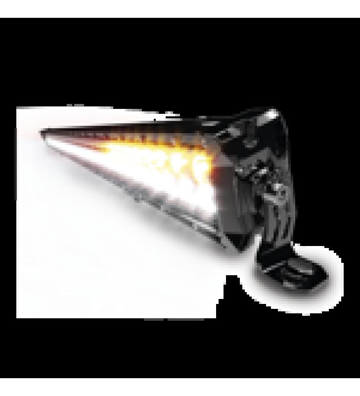 BARRA DE LUZ LED CLARA/ AMBAR, 12-24 VCD, 12,600 LUMENES, IP67