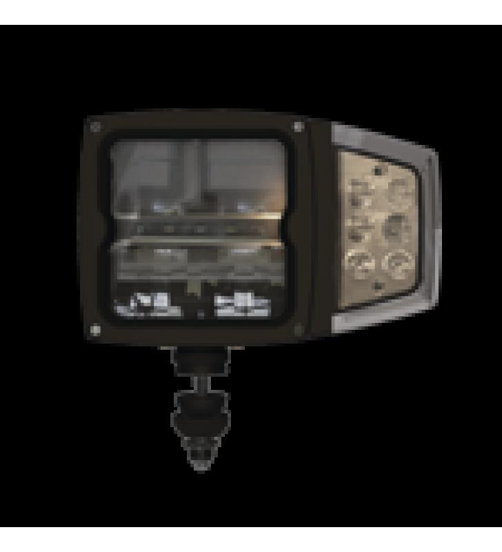 LAMPARA  LED DE TRABAJO, DE USO RUDO, IP68, 12 VCD