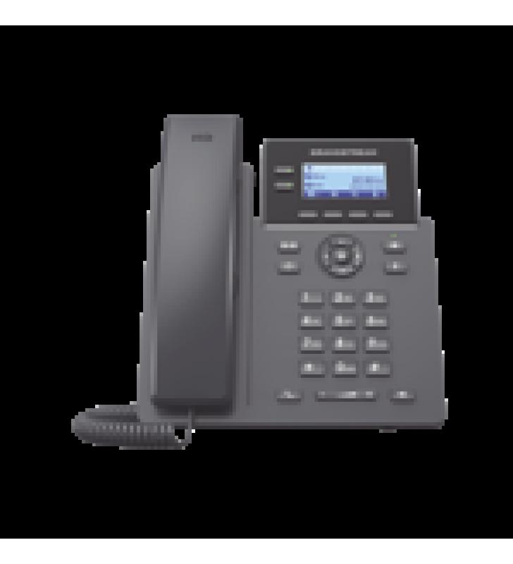 TELEFONO IP GRADO OPERADOR, 2 LINEAS SIP CON 4 CUENTAS, CODEC OPUS, IPV4/IPV6 CON GESTION EN LA NUBE GDMS