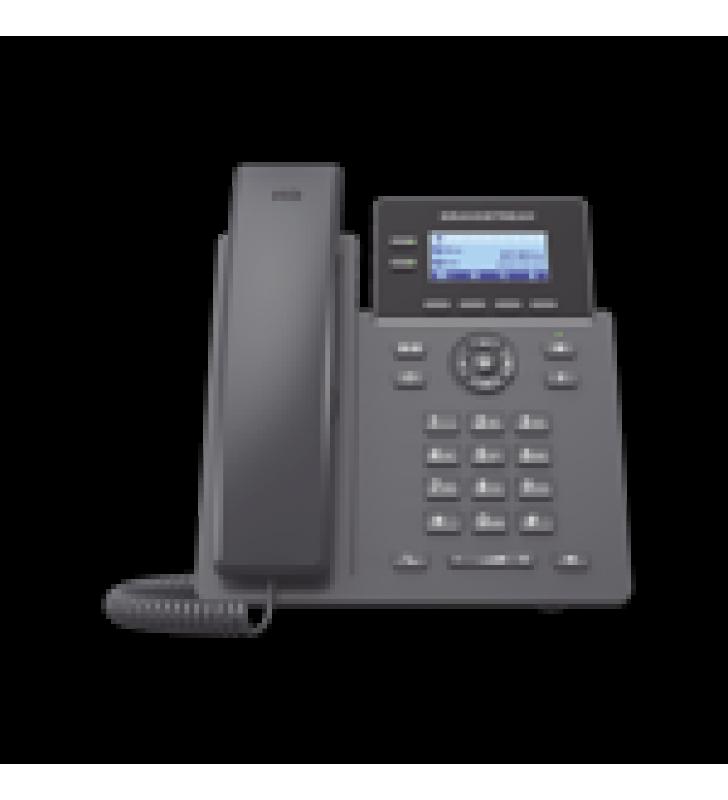 TELEFONO IP GRADO OPERADOR, 2 LINEAS SIP CON 4 CUENTAS, POE, CODEC OPUS, IPV4/IPV6 CON GESTION EN LA NUBE GDMS