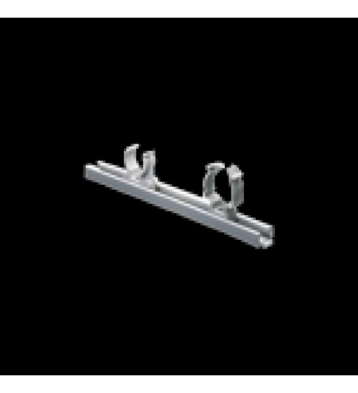 UNICANAL DE PVC AUTO-EXTINGUIBLE 0 HALOGENOS, 20CM (NO INCLUYE ABRAZADERAS)