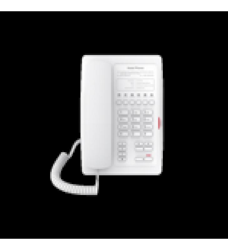 TELEFONO IP PARA HOTELERIA, PROFESIONAL CON 6 TECLAS PROGRAMABLES PARA SERVICIO RAPIDO (HOTLINE), PLANTILLA PERSONALIZABLE CON POE