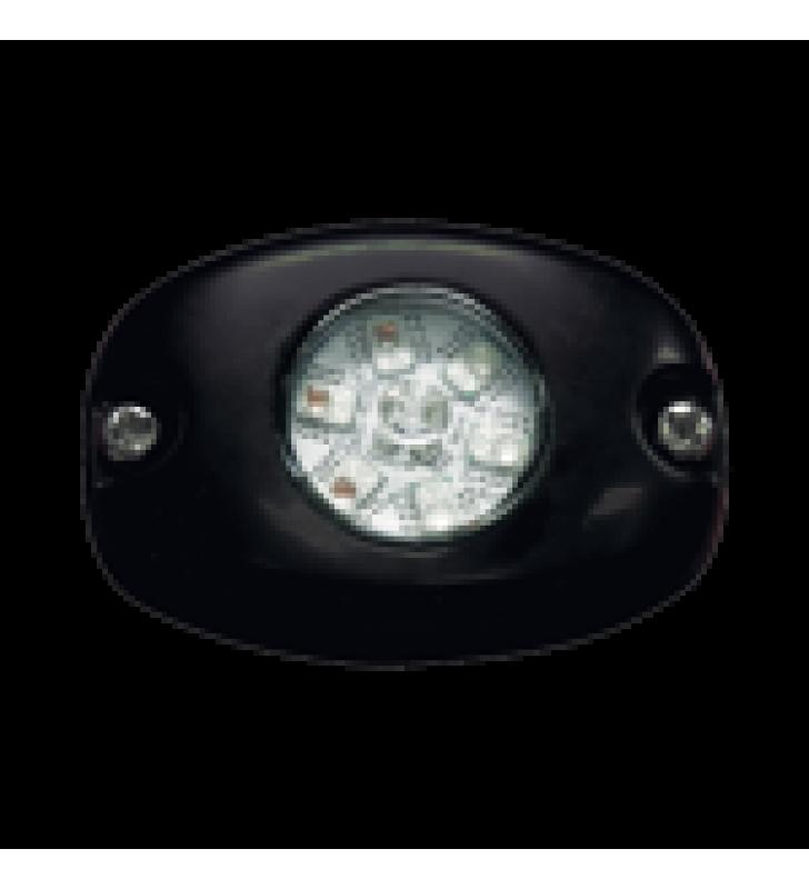 LAMPARA OCULTA DE LED SERIE HB6PAK COLOR DUAL ROJO Y AZUL