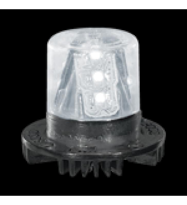 HIDE-A-BLAST ? 9 LED, FUENTE DE ALIMENTACION Y CABLE DE 15 - CLARO