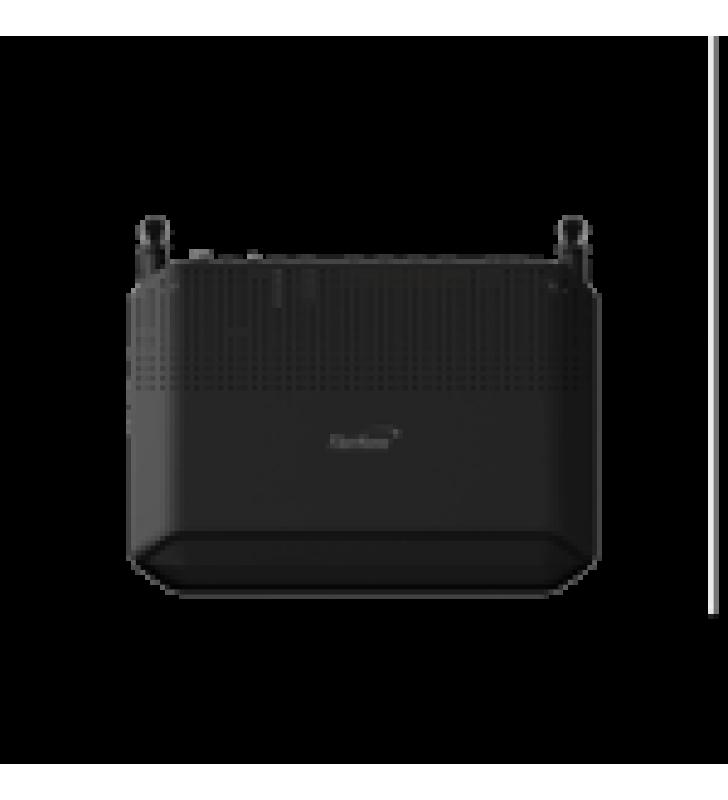ONU GPON WIFI 2.4/5 GHZ MIMO 2X2, 4 PUERTOS GIGABIT + 1 POTS + USB, CONECTOR SC/APC