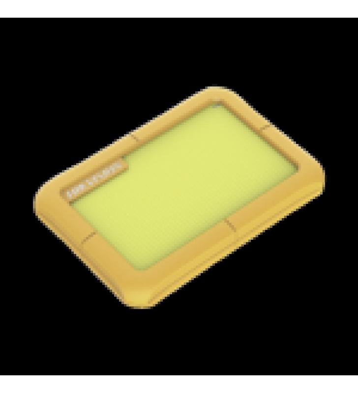 DISCO DURO PORTATIL 1 TB / COLOR VERDE / CONECTOR USB 3.0 A MICRO B / CUBIERTA CON GOMA PROTECTORA PARA AMORTIGUAR LAS CAIDAS
