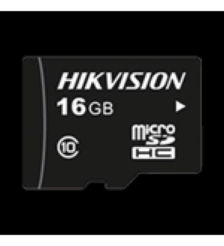 MEMORIA MICROSD / CLASE 10 DE 16 GB / ESPECIALIZADA PARA VIDEOVIGILANCIA / COMPATIBLES CON CAMARAS HIKVISION
