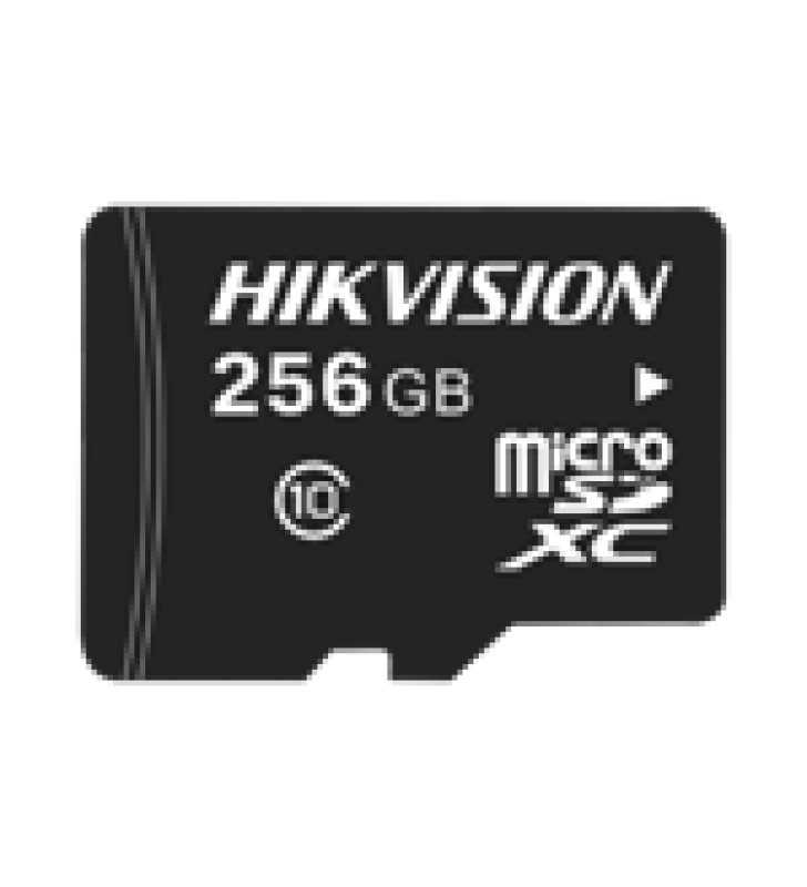 MEMORIA MICROSD / CLASE 10 DE 256 GB / ESPECIALIZADA PARA VIDEOVIGILANCIA / COMPATIBLE CON CAMARAS HIKVISION
