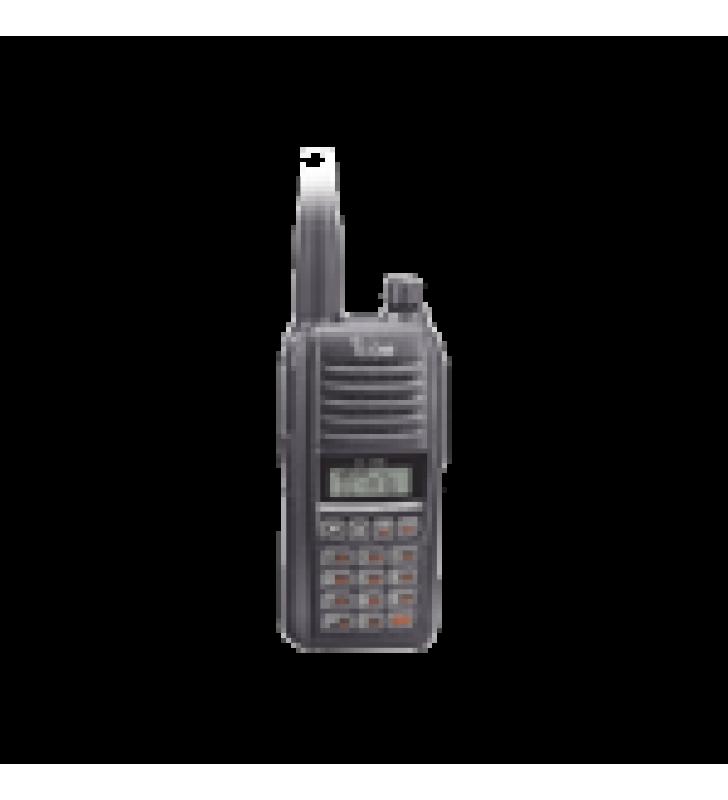 RADIO PORTATIL AEREO CON BLUETOOTH INCLUIDO, RANGO DE FRECUENCIA 118-136.99166MHZ, 6W PEP, 200 CANALES ALFANUMERICOS, PANTALLA DE 8 CARACTERES, INCLUYE: BATERIA, CARGADOR, ANTENA Y CLIP