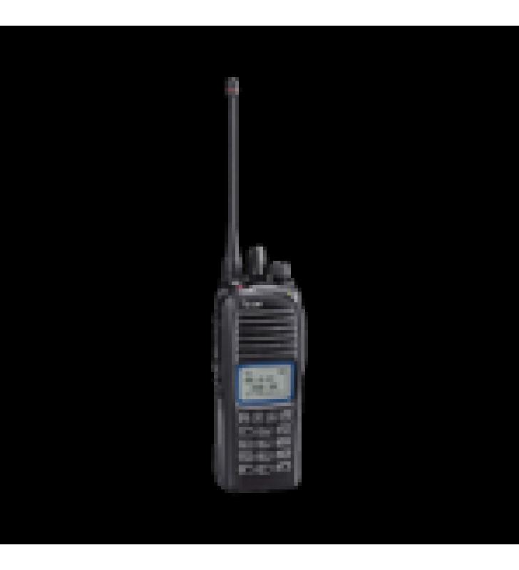 RADIO PORTATIL DIGITAL NXDN IS, 5 W, 400-470MHZ, 512 CANALES, SIN GPS, SUMERGIBLE IP67, ANALOGICO, DIGITAL, MEZCLADO, CONVENCIONAL, TRUNKING Y MULTITRUNK, NO INCLUYE CARGADOR.