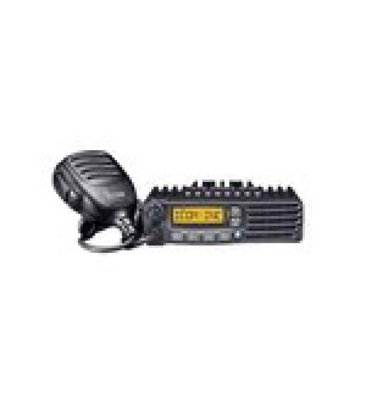 RADIO MOVIL DIGITAL NXDN CON PANTALLA, 45 W, 450-512MHZ, 128 CANALES, ANALOGICO, DIGITAL, MEZCLADO, CONVENCIONAL, TRUNKING   INCLUYE MICROFONO, CABLE DE CORRIENTE Y BRACKET.
