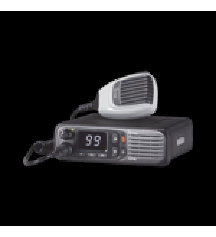 RADIO MOVIL DIGITAL CON PANTALLA NUMERICA, EN RANGO DE 380-470MHZ, DE 99 CANALES SELECCIONABLES, GPS, Y BLUETHOOTH. INCLUYE MICROFONO, CABLE DE CORRIENTE Y BRACKET.