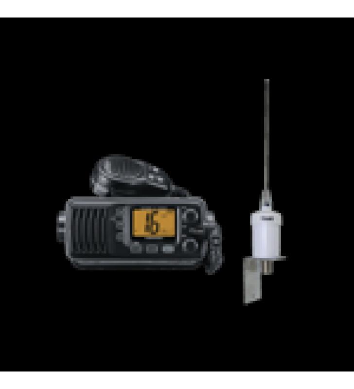 KIT DE RADIO ICOM ICM200 + ANTENA MARINA 1600HC