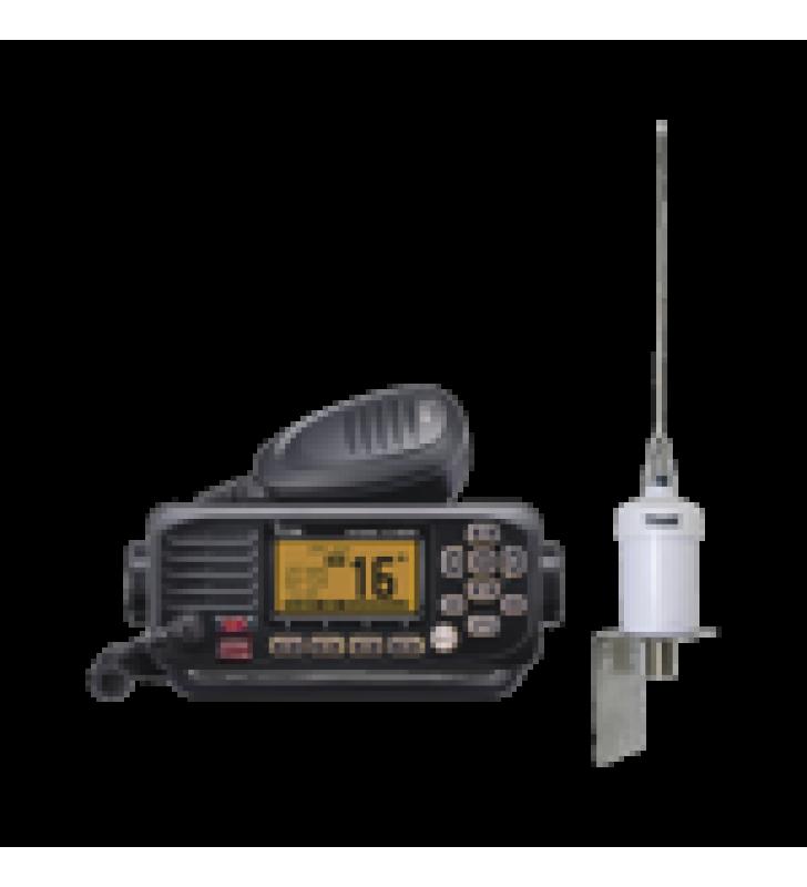 KIT DE RADIO ICOM IC-M220 + ANTENA MARINA 1600HC