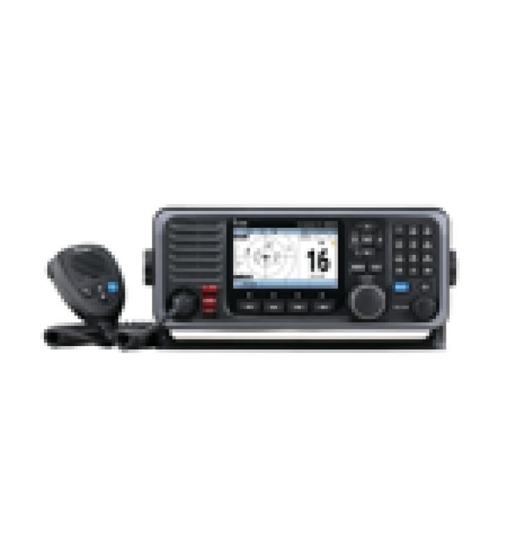 RADIO MOVIL MARINO EN BANDA DE VHF, CON PANTALLA A COLOR DE 4.3 PULGADAS, RECEPTOR DE GPS, GRABADOR DE VOZ, INCLUYE RECEPTOR AIS.