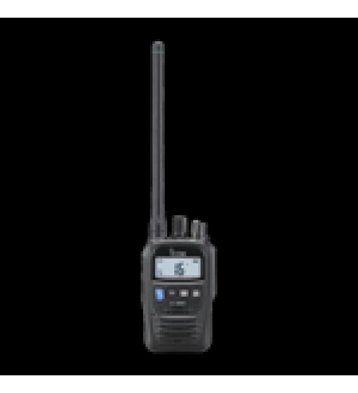 RADIO PORTATIL MARINO Y COMERCIAL EN VHF, INCLUYE LOS CANALES USA, INT, CAN, Y DEL CLIMA