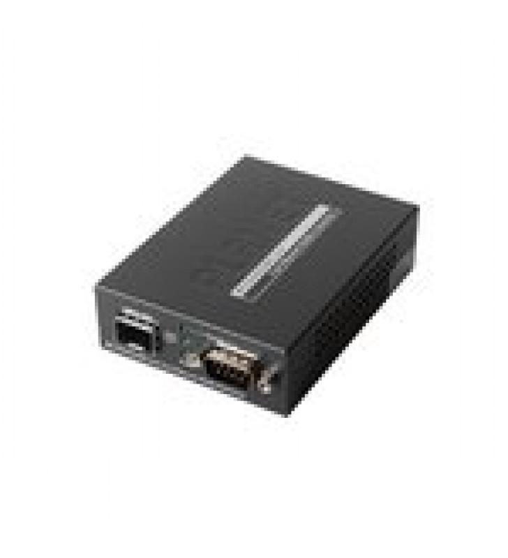 CONVERTIDOR DE MEDIOS RS-232/422/485 A SFP 100 BASE-FX