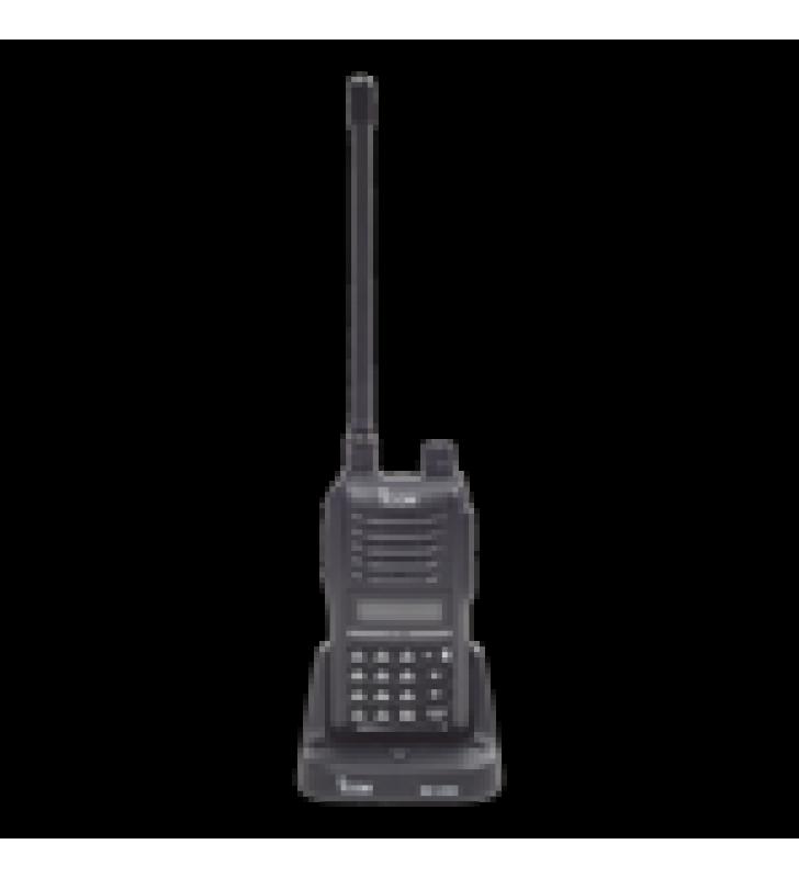 RAD.ICOM 136-174MHZ, 7.0W , 207CH, DTMF, INC. ANT/BAT/CARG.