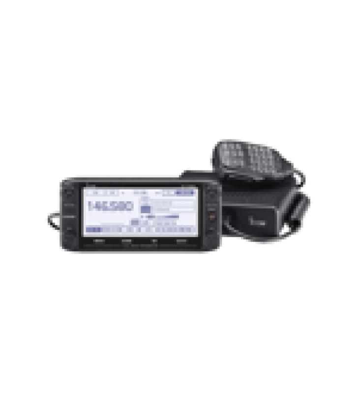 RADIO MOVIL DOBLE BANDA D-STAR VHF/UHF RX: 118-174MHZ, 375-550MHZ, TX:144-148MHZ, 430-450MHZ, 50W DE POTENCIA, PANTALLA TOUCH SCREEN.